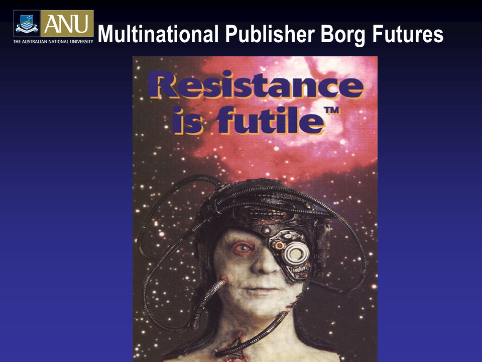 Multinational Publisher Borg Futures