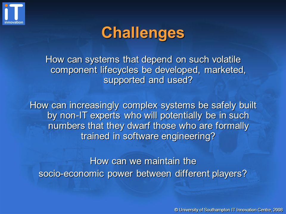 © University of Southampton IT Innovation Centre, 2008 http://www.it-innovation.soton.ac.uk mjb@it-innovation.soton.ac.uk