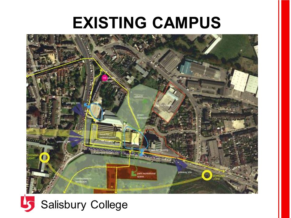 Salisbury College EXISTING CAMPUS