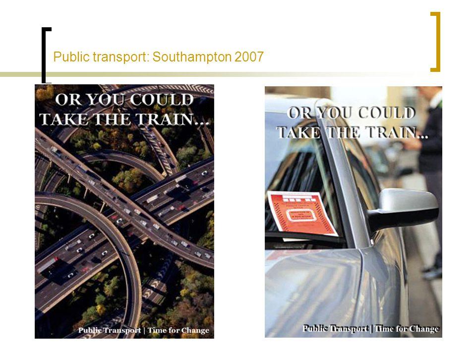 Public transport: Southampton 2007