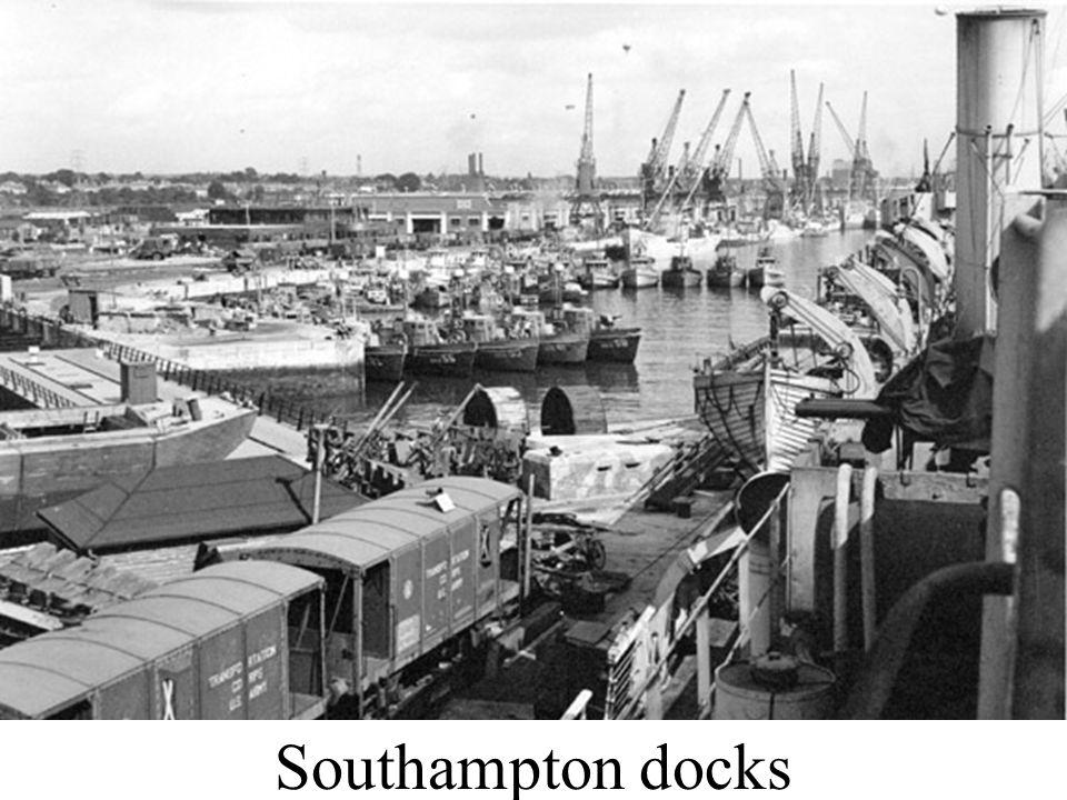 Southampton docks