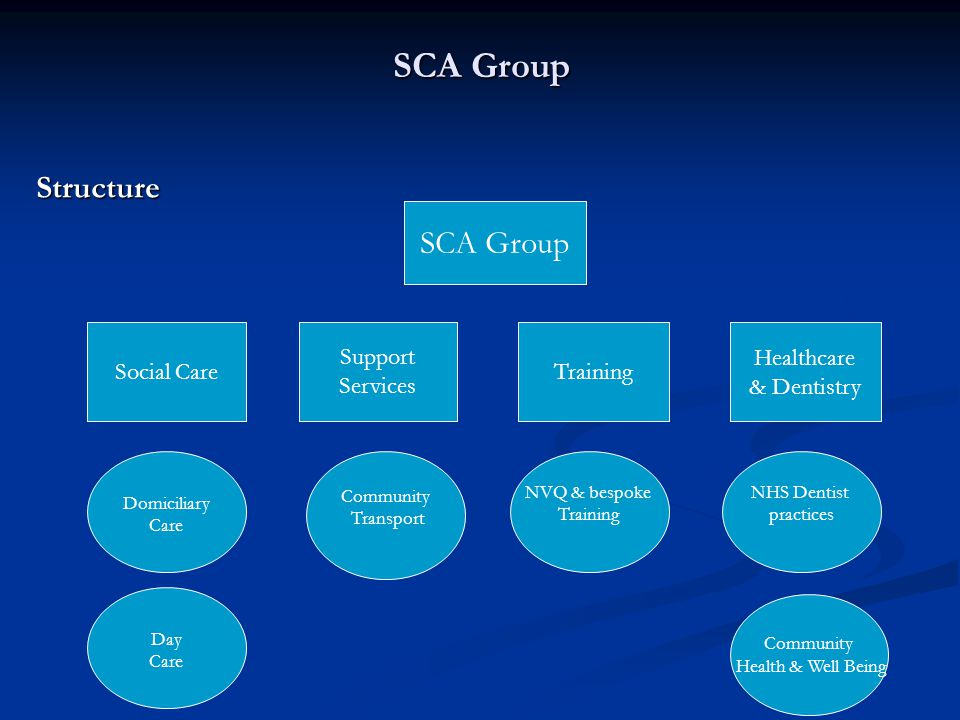 SCA Group SCA Group Financial History
