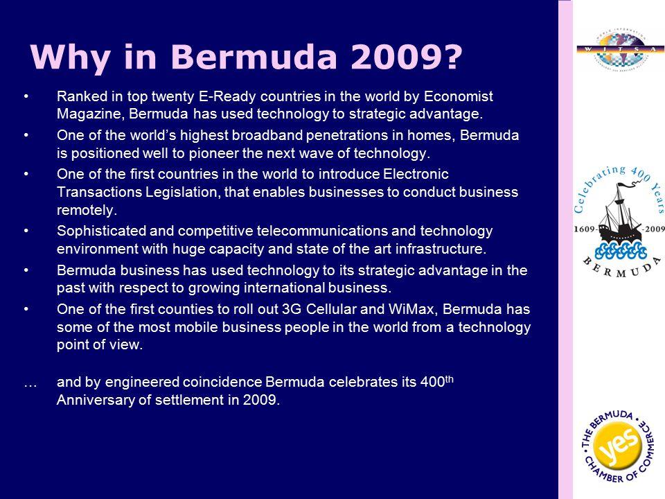 Why in Bermuda 2009.