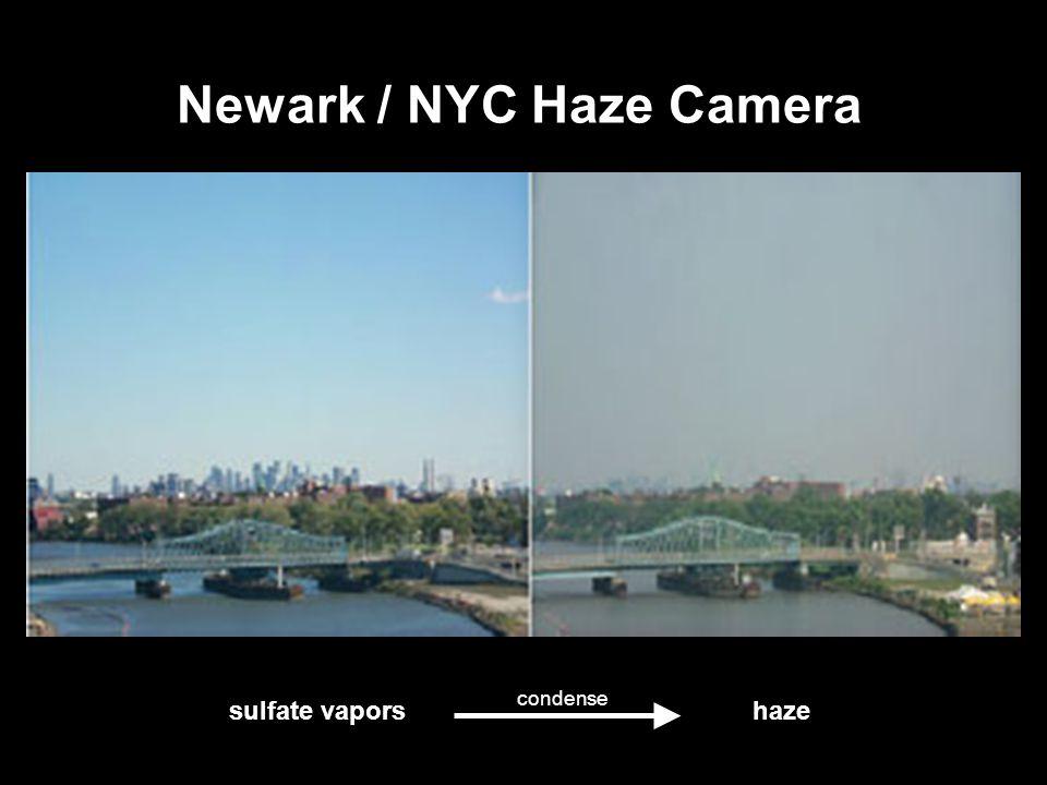 33 Newark / NYC Haze Camera sulfate vapors haze condense