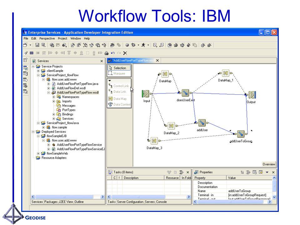 Workflow Tools: IBM