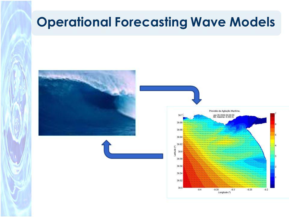 WaveWatch III (Tolman 1997, 1999a) Model description: – Third generation wave model developed at NOAA/NCEP.