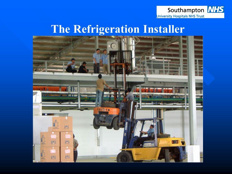 The Refrigeration Installer