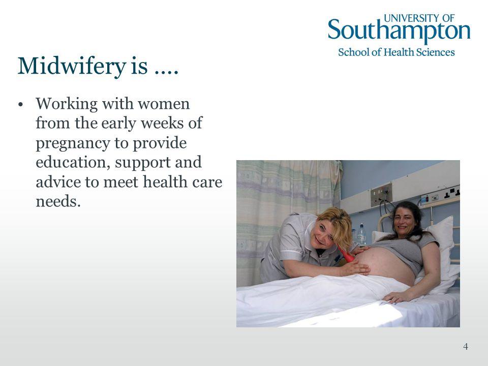 4 Midwifery is ….