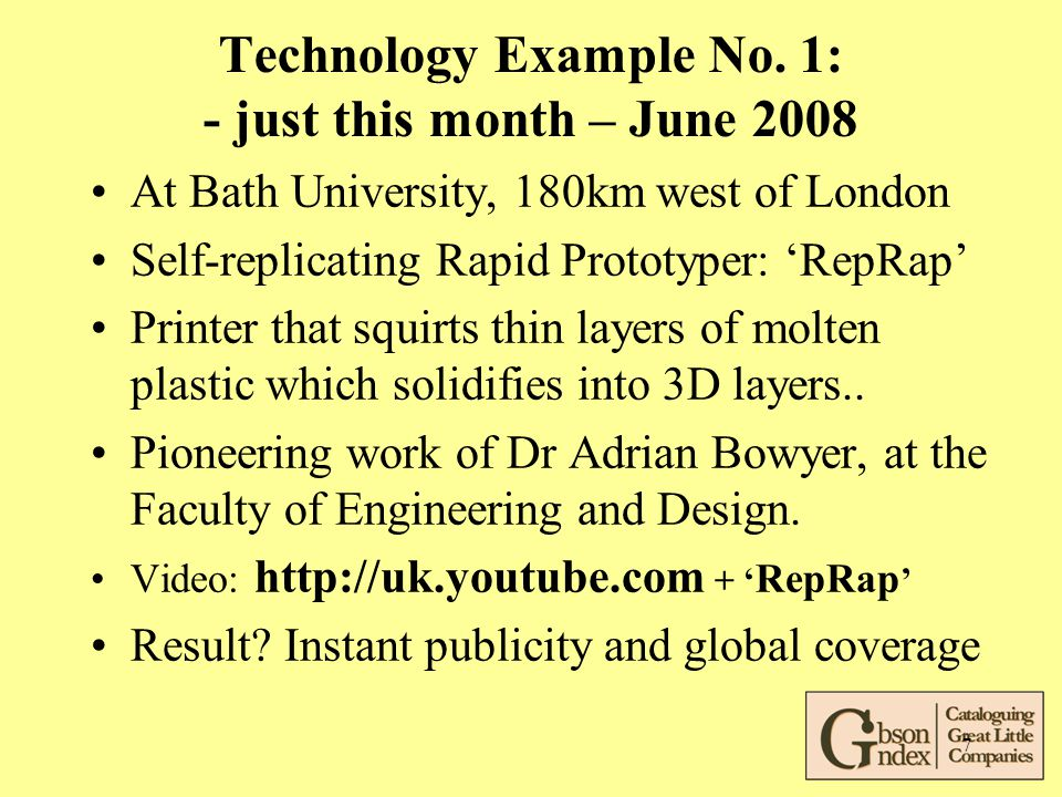 7 Technology Example No.