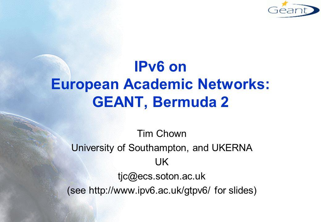 Why run IPv6 trial/services.