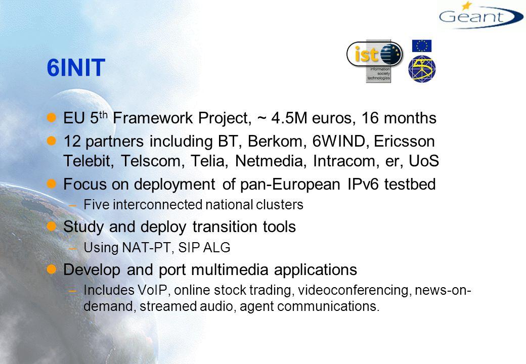 QTPv6 overview