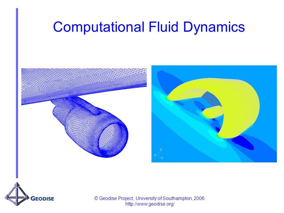 © Geodise Project, University of Southampton, 2006. http://www.geodise.org/ Computational Fluid Dynamics