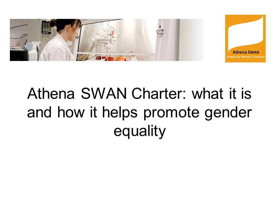 What is the Athena SWAN Charter.