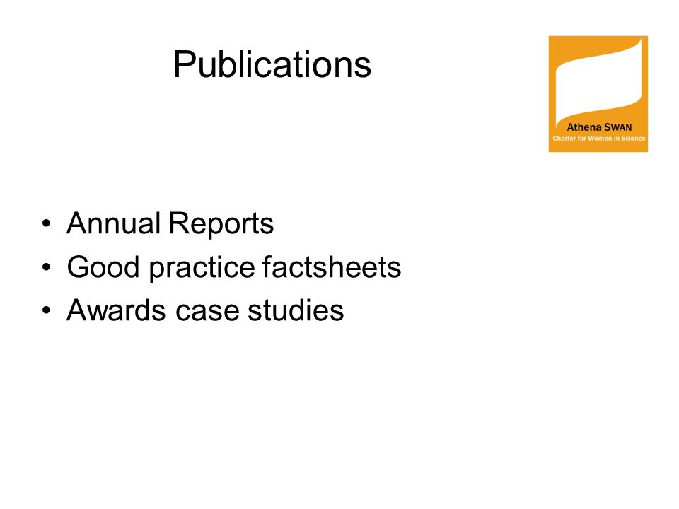 Publications Annual Reports Good practice factsheets Awards case studies
