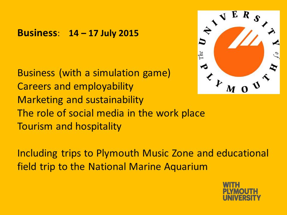 Arts and Humanities: 07 – 10 July 2015 Building and architecture Digital Art Drama Humanities Illustration Music Including a trip to our Immersive Vision Theatre and Peninsula Art Gallery