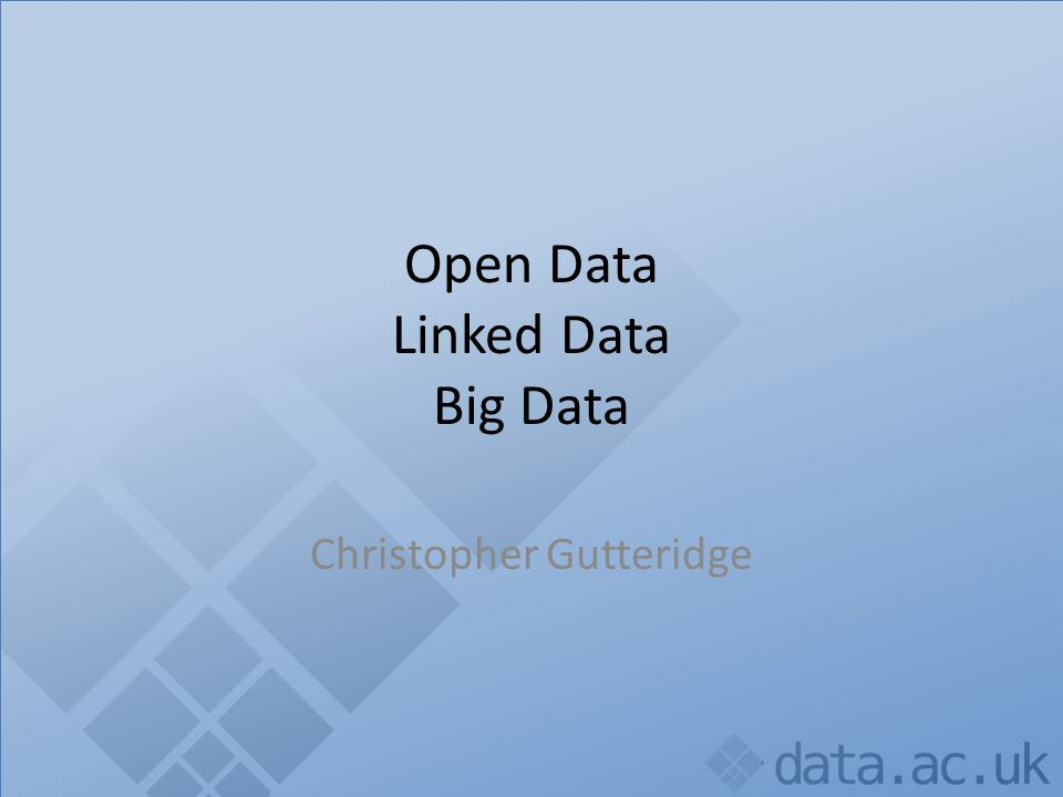 Linked Data.Open Data.