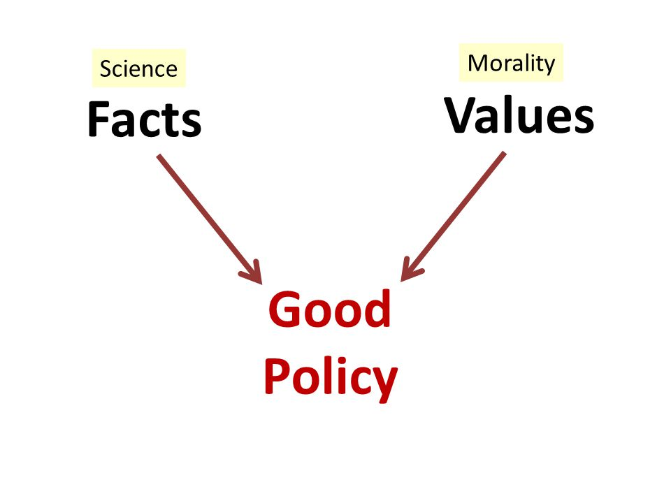 Facts Values Good Policy Science Morality
