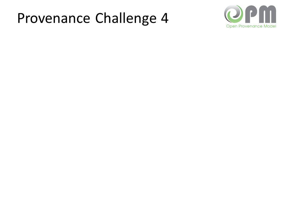 Provenance Challenge 4