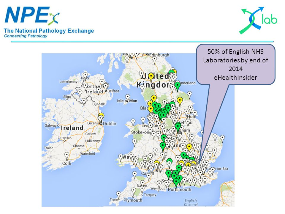 50% of English NHS Laboratories by end of 2014 eHealthInsider