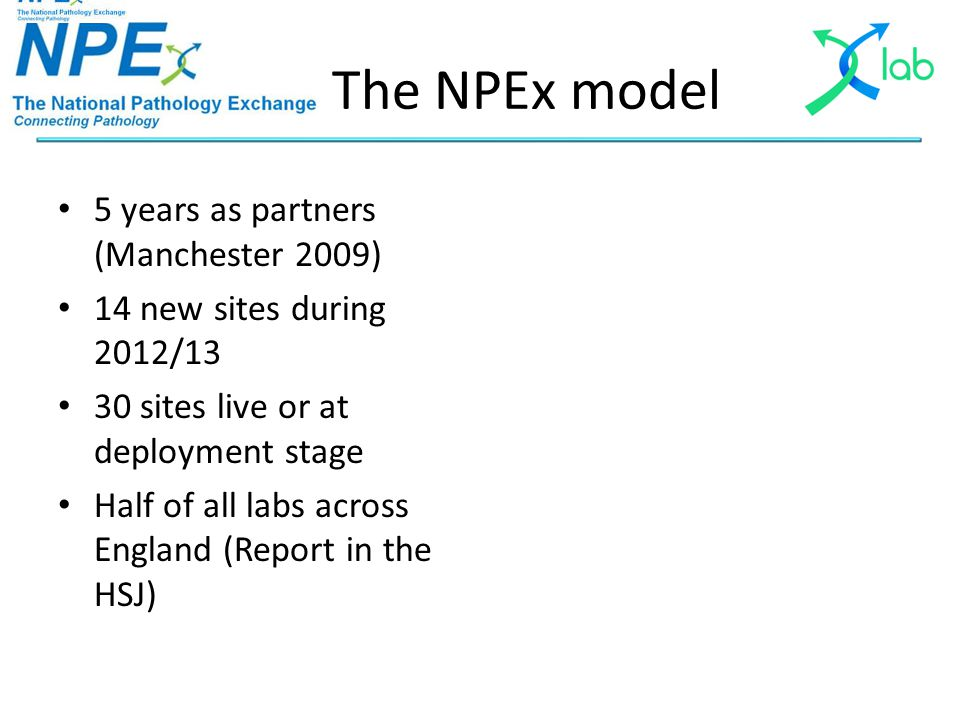 Agenda – Part 3 NPEx Future Focus Chair: Steve Box, Business Development Manager, X-Lab Session 6: NPEx Future Road Map Speaker: Owen Johnson Open Forum Chair: Dr.