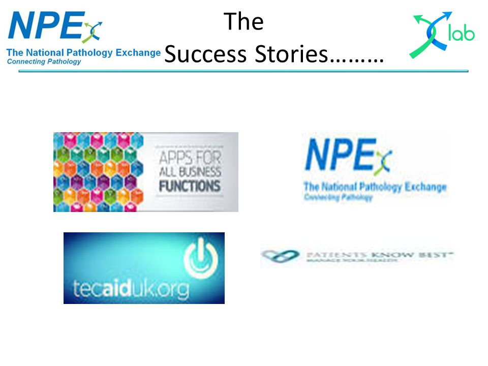 The Success Stories………