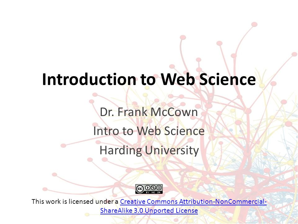 What is Web Science.