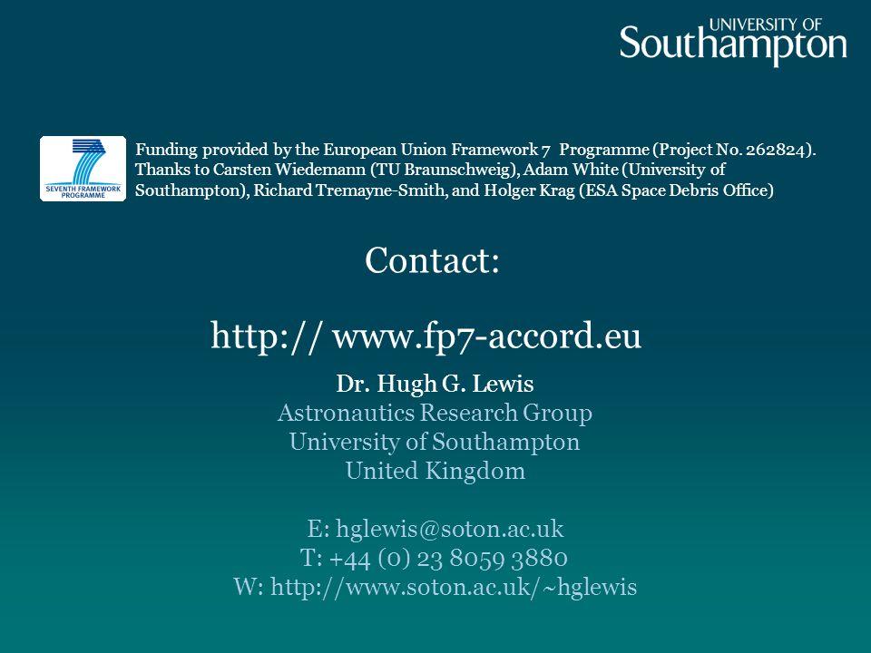Contact: Dr. Hugh G.