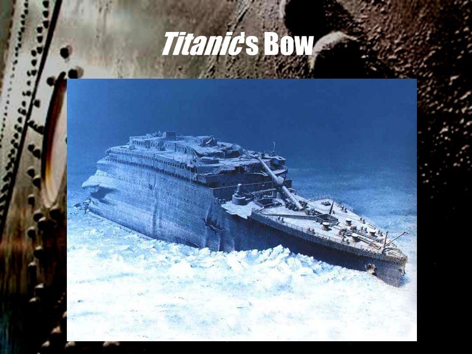 Titanic's Bow