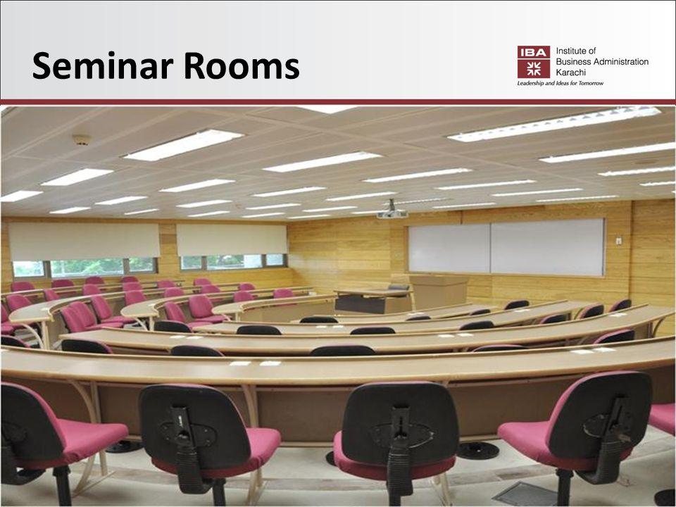 Seminar Rooms