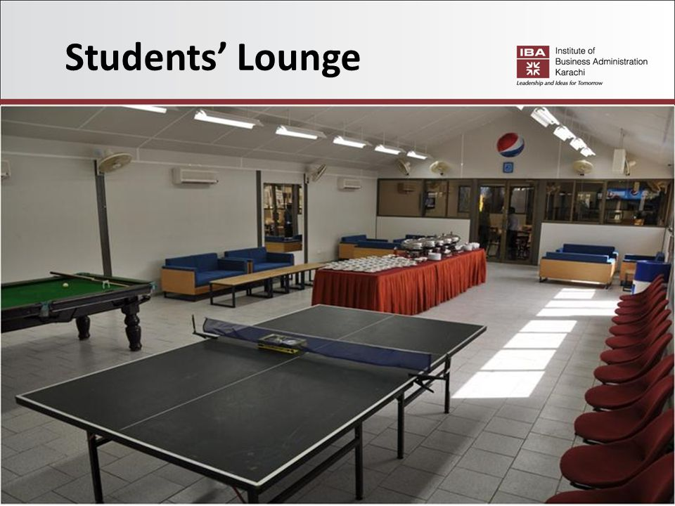 Students' Lounge