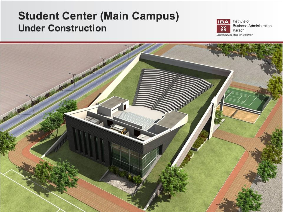 Student Center (Main Campus) Under Construction