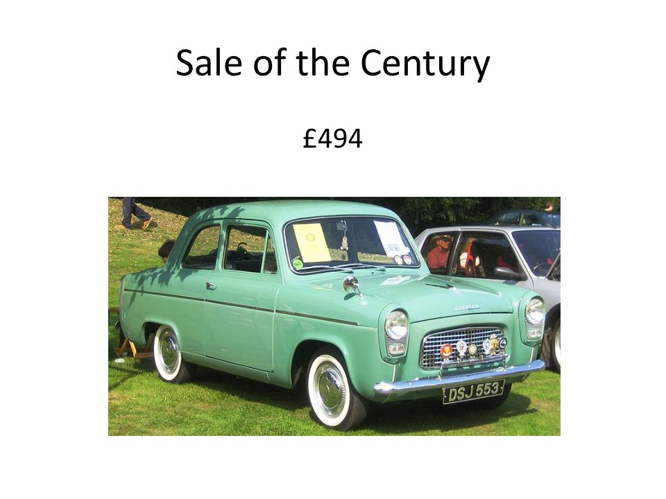 Sale of the Century £494