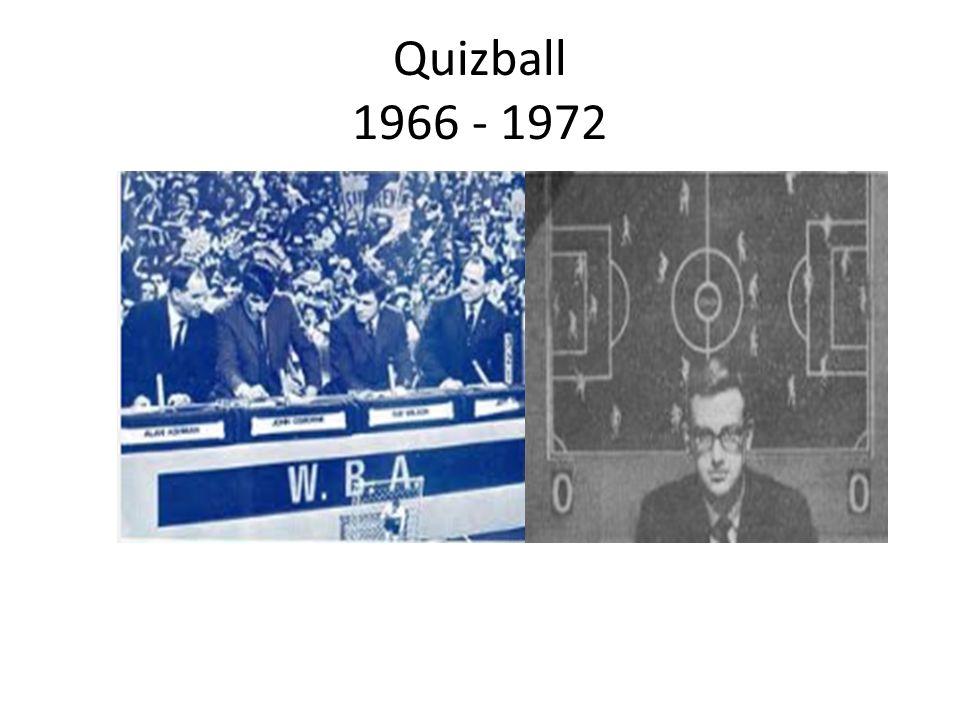 Quizball 1966 - 1972