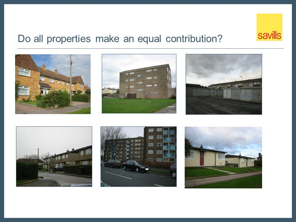 Do all properties make an equal contribution?
