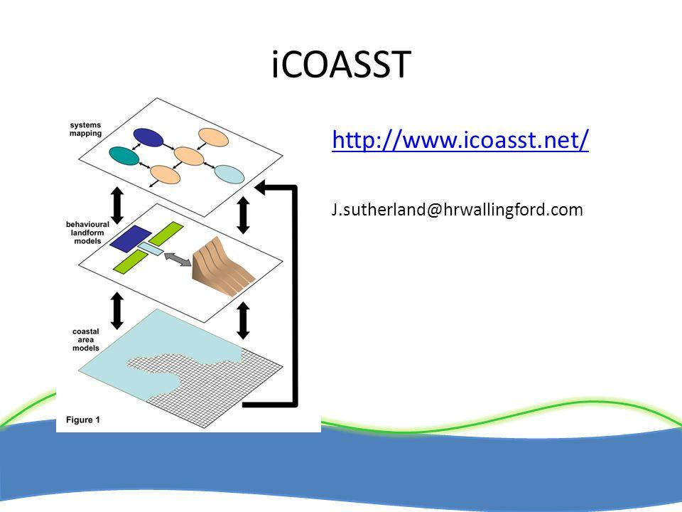 iCOASST http://www.icoasst.net/ J.sutherland@hrwallingford.com