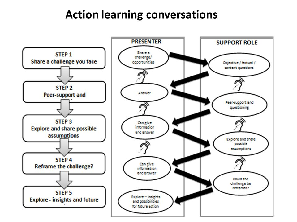 Action learning conversations