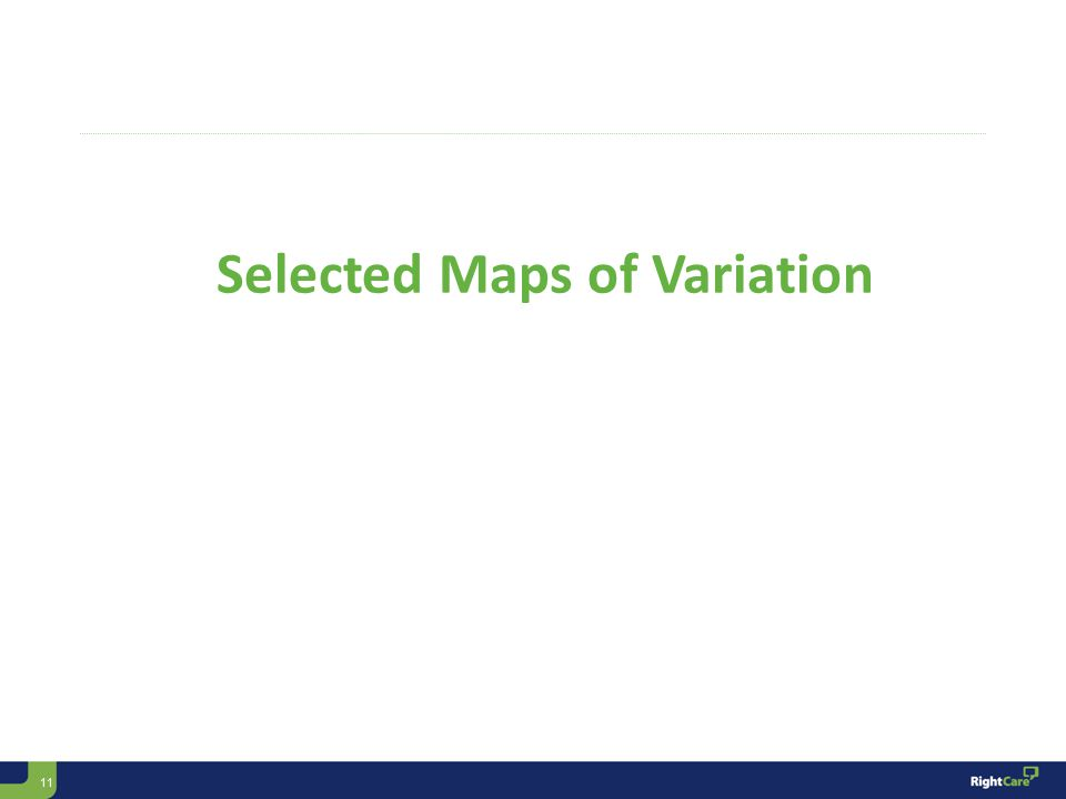 11 Selected Maps of Variation