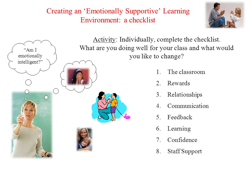 © Crown copyright 2005 Teaching and Reflecting on Emotions 6 important areas to explore 1.