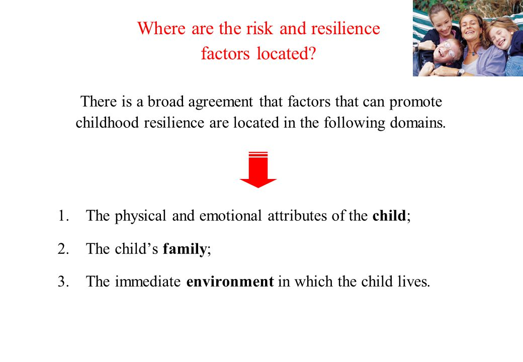 © Crown copyright 2005 What should we aim for? (1)To reduce risk and increase resilience factors via child-centred approaches and needs-led provision