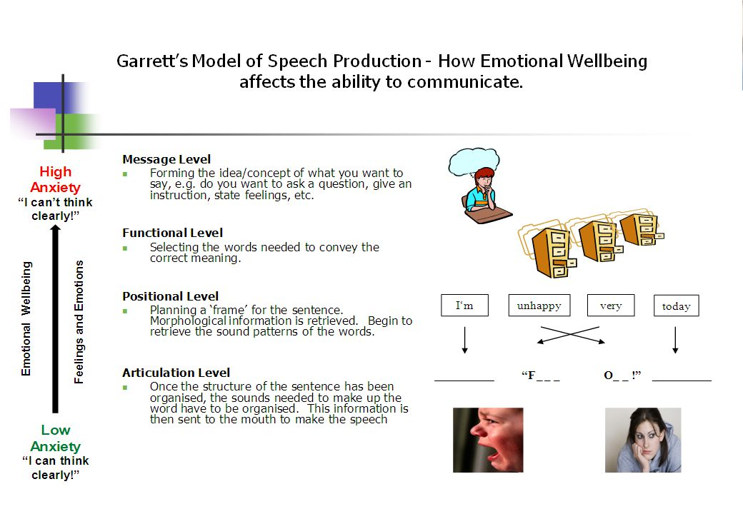© Crown copyright 2005 Emotions, Speech, Language, Communication and the Brain!.