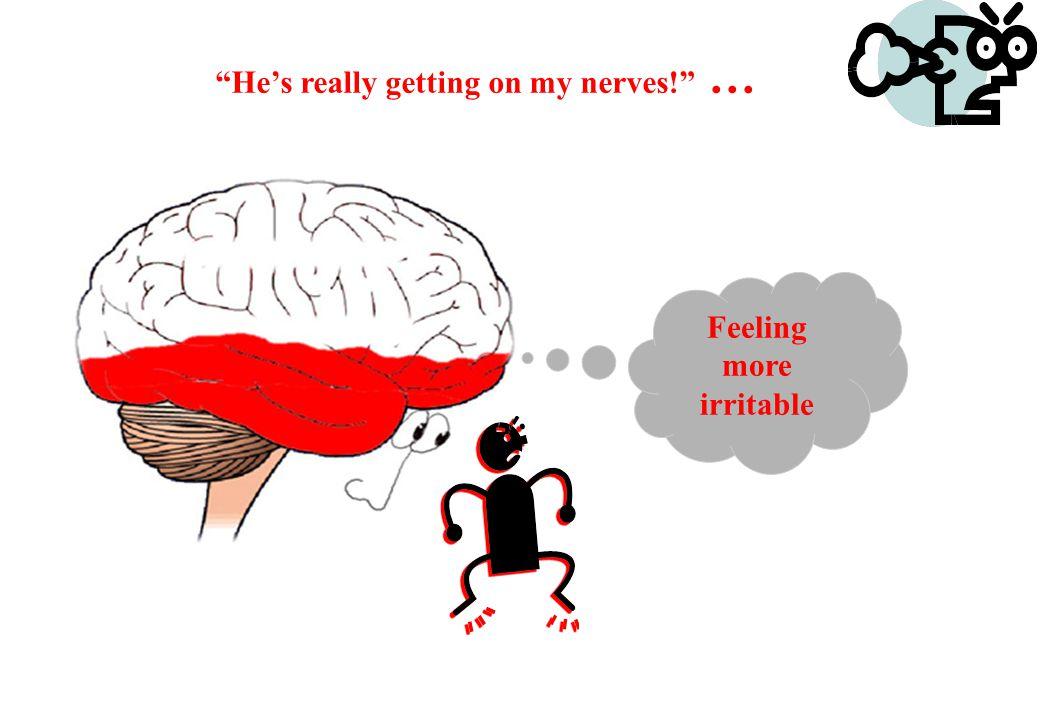 © Crown copyright 2005 He's annoying me … Feeling Irritable Feeling Irritable
