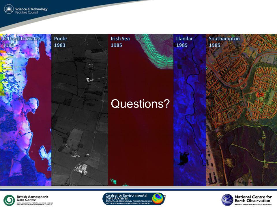 VO Sandpit, November 2009 Questions