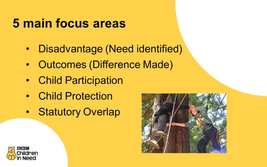 5 main focus areas