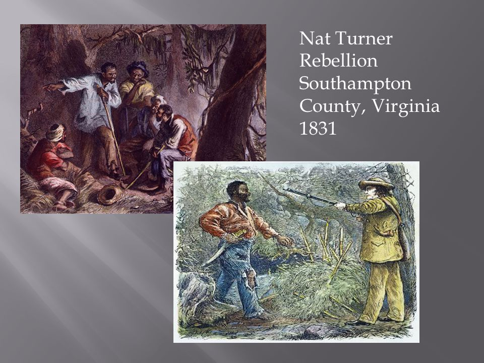 Violent Resistance: Gabriel Prosser: Led a failed slave revolt in Richmond, Virginia in 1800