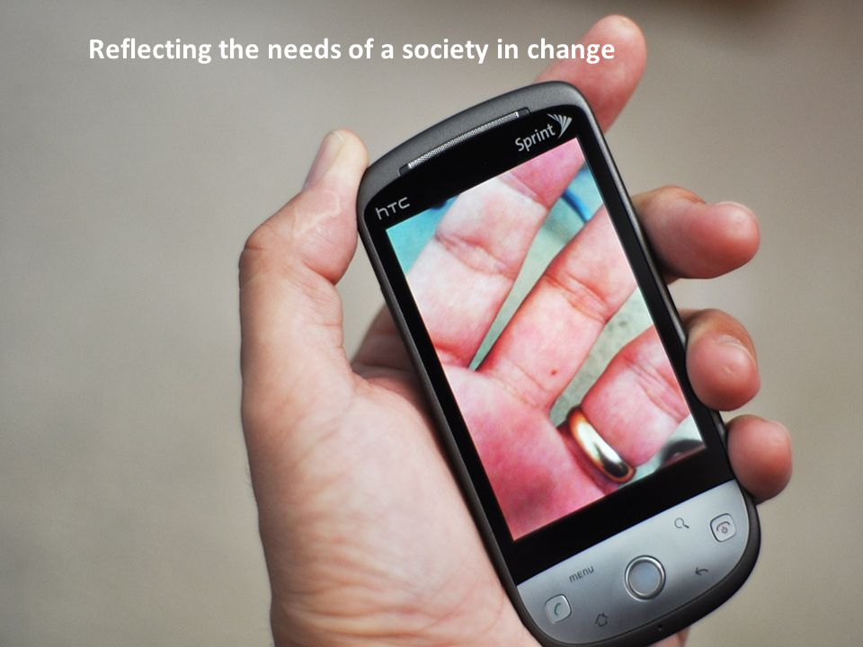Reflecting the needs of a society in change