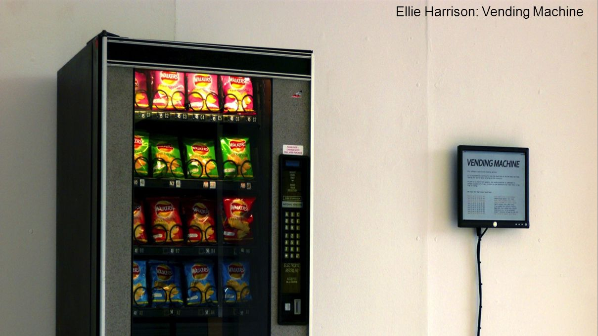 Ellie Harrison: Vending Machine