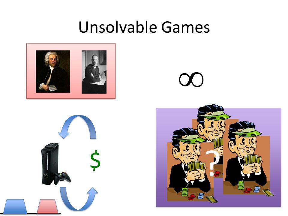 Unsolvable Games ∞ $