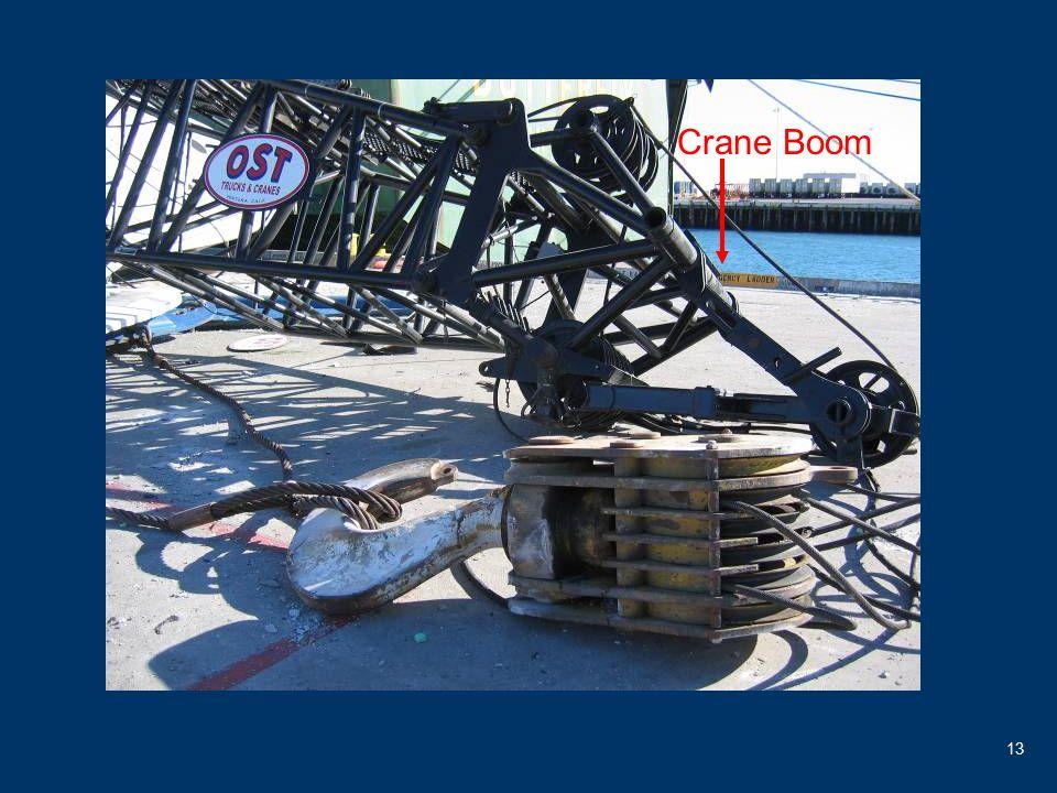 13 Crane Boom