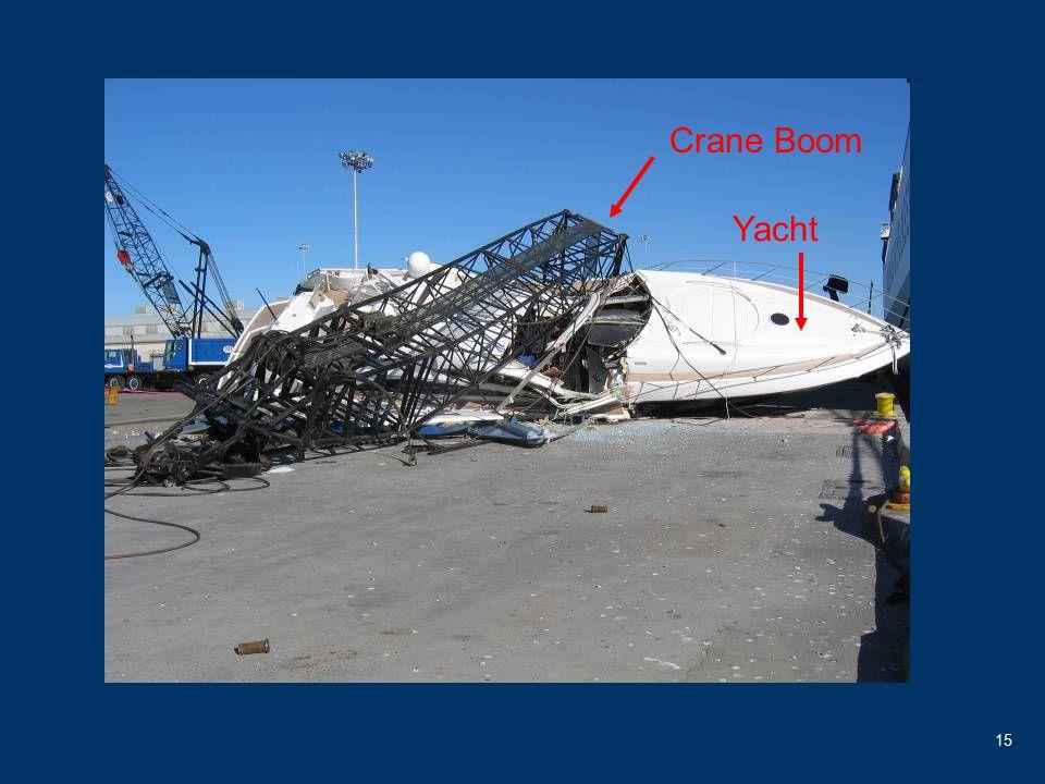 15 Crane Boom Yacht