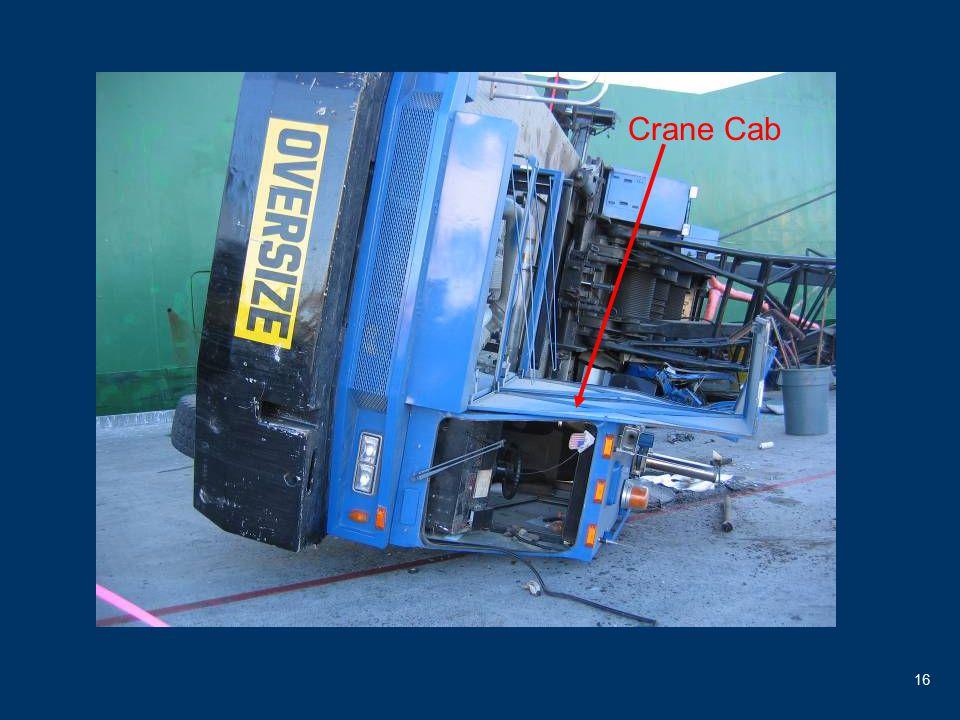 16 Crane Cab